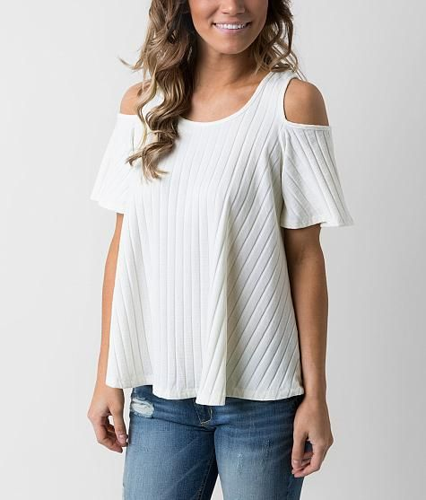 88e8612696f7d Bobeau Cold Shoulder Top...! I MUST HAVE THIS!