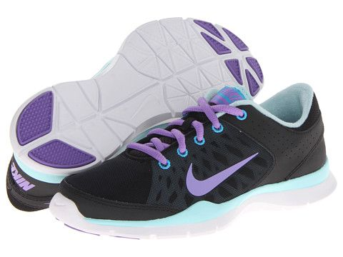 3562d81176d62 Nike Flex Trainer 3 Black Glacier Ice Vivid Blue Atomic Violet - Zappos.com  Free Shipping BOTH Ways