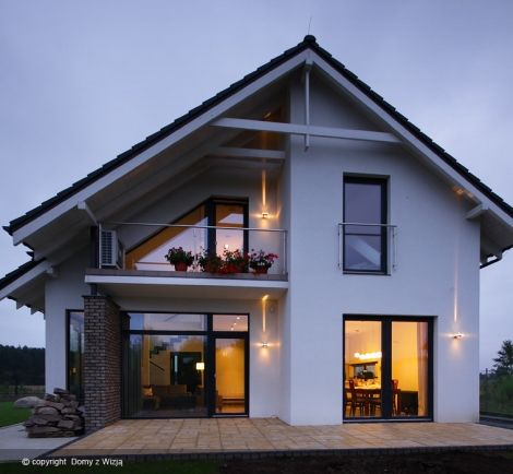 House designs realizacja zdj cie also best images in nice houses log projects rh pinterest