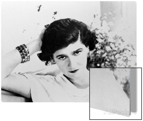 Early Undated Photo Of French Fashion Designer Coco Chanel Metal Print Coco Chanel Quotes Coco Chanel Fashion Coco Chanel Pictures