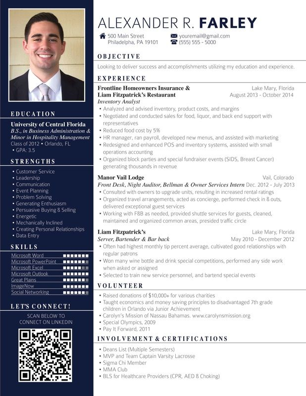 8 best images about TeChNoLoGy on Pinterest Professional resume - hospitality resume