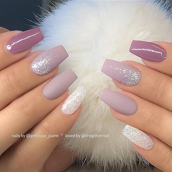 Photo of TheGlitterNail Get inspired on Instagram Matt & Shiny Simple Nail Art Water
