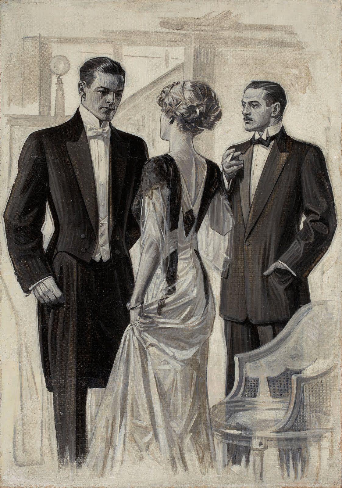 VINTAGE ADVERTISEMENT - J.C. Leyendecker for The Arrow Shirt Co.