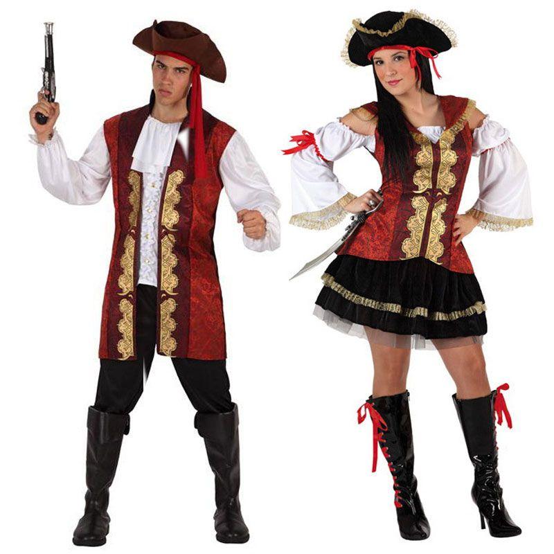 Pareja de disfraces de piratas parejas disfraces for Disfraces parejas adultos