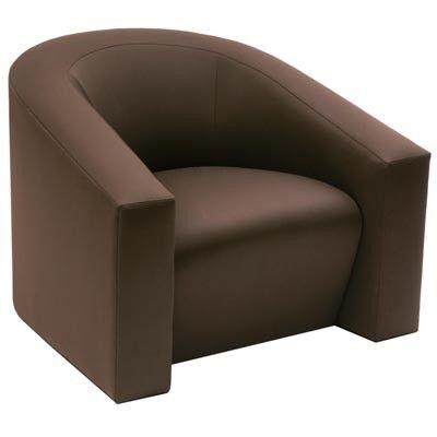 Furniture Club chairs volume VOLUME TUB CHAIR 3801 Donghia,Furniture ...