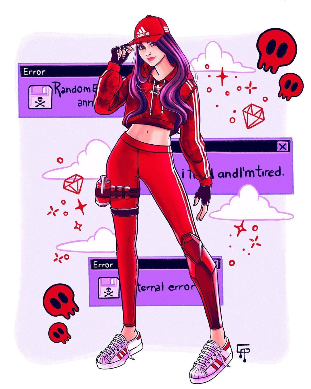 Gigi On Instagram Second Obsession Ruby I Usually Like More Dark Characters But This Girl Totally Caugh In 2020 Best Gaming Wallpapers Fortnite Gaming Wallpapers