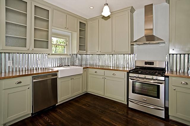 backsplash - would be great for a little DIY apartment therapy