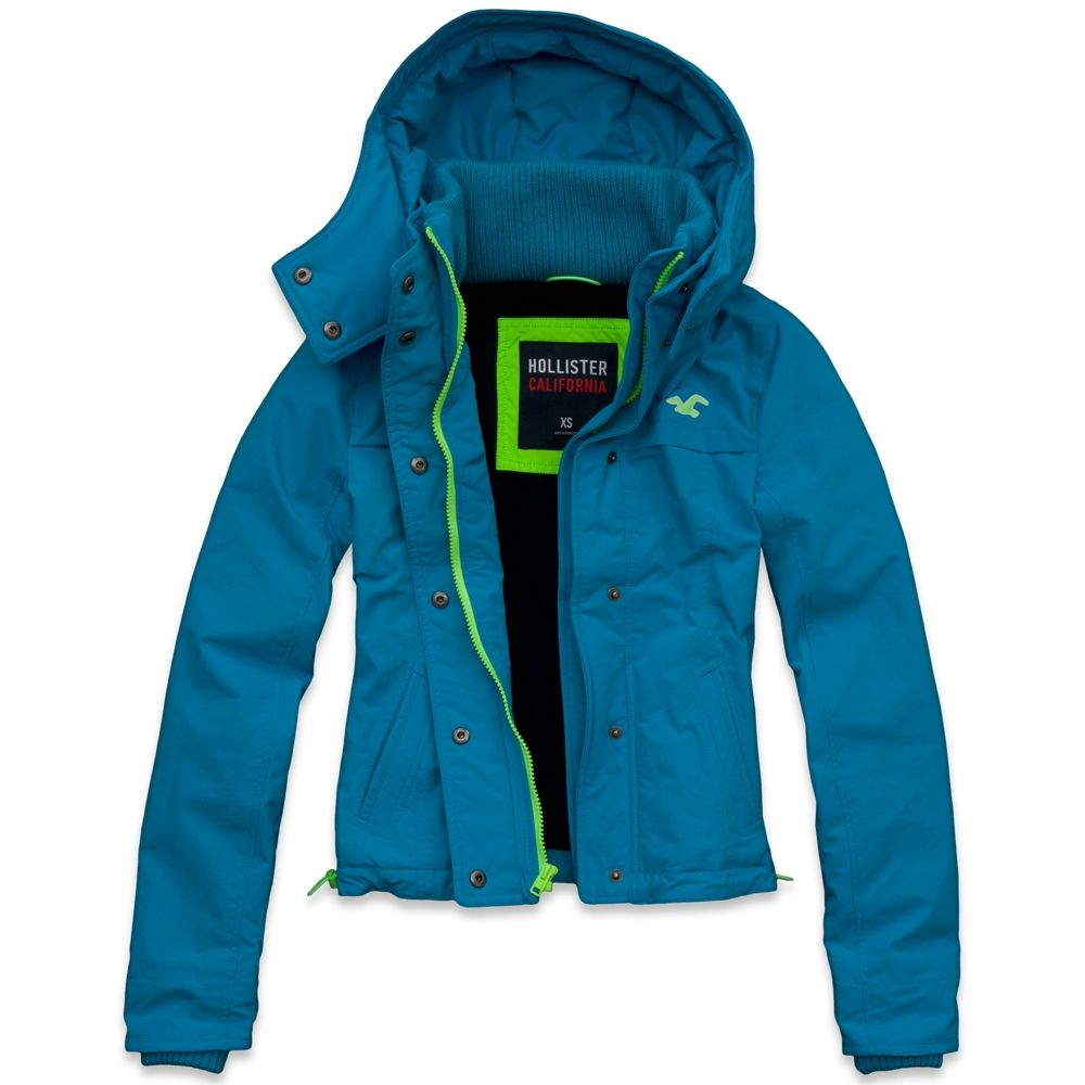 Hollister All Weather Jacket All Weather Jackets Jackets Outerwear Jackets [ 1000 x 1000 Pixel ]