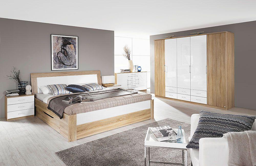 Tolle schlafzimmer komplett sonoma eiche in 2020