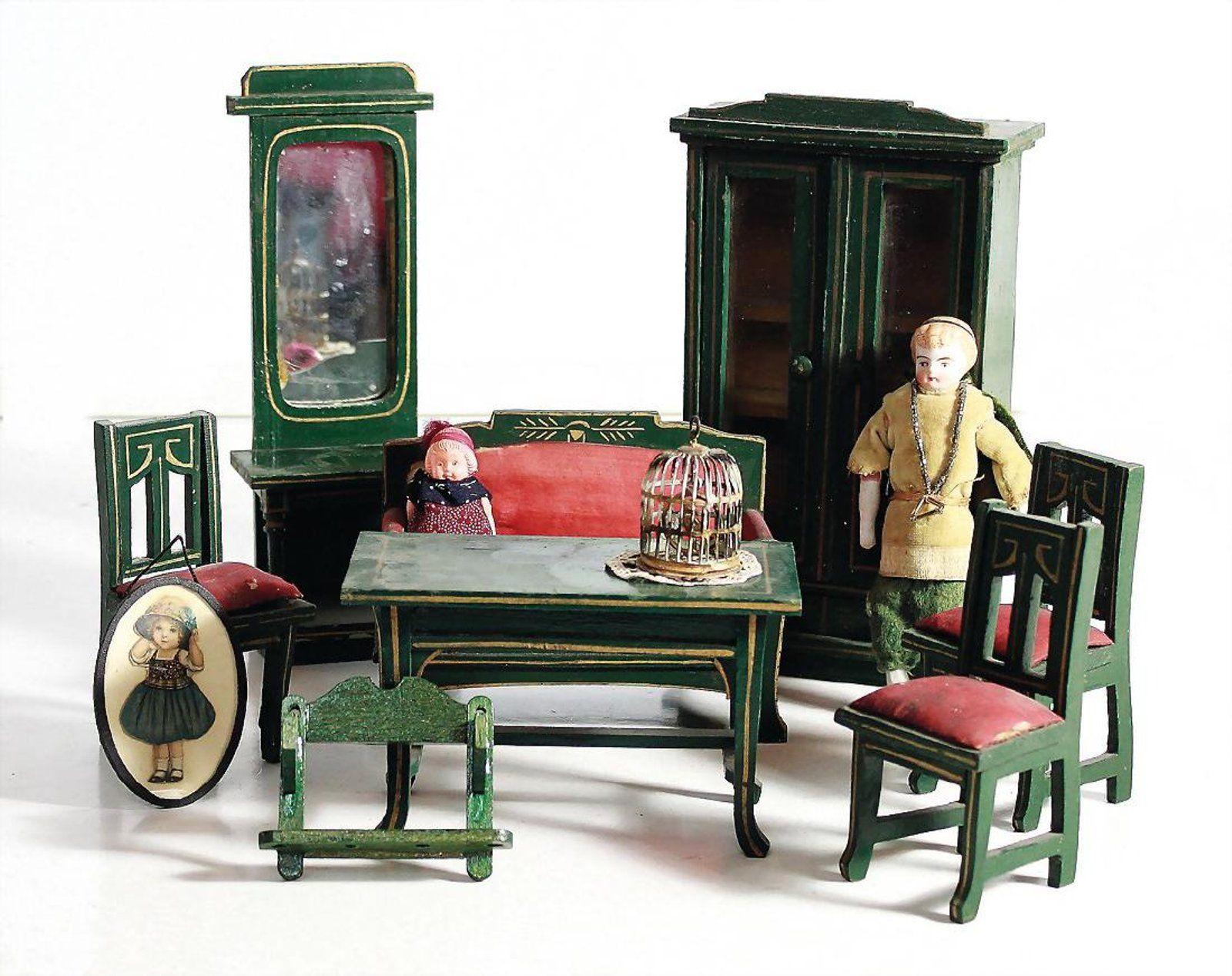 Gottschalk Puppenstuben Wohnzimmer Möbel Programm On Antike