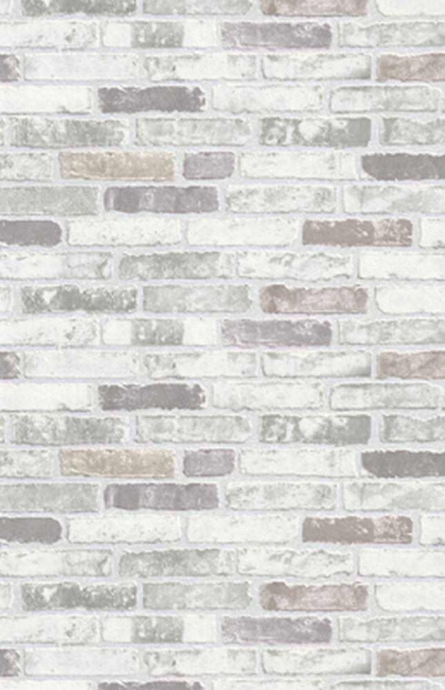 new luxury erismann brix grey brick wall effect embossed textured, Hause deko
