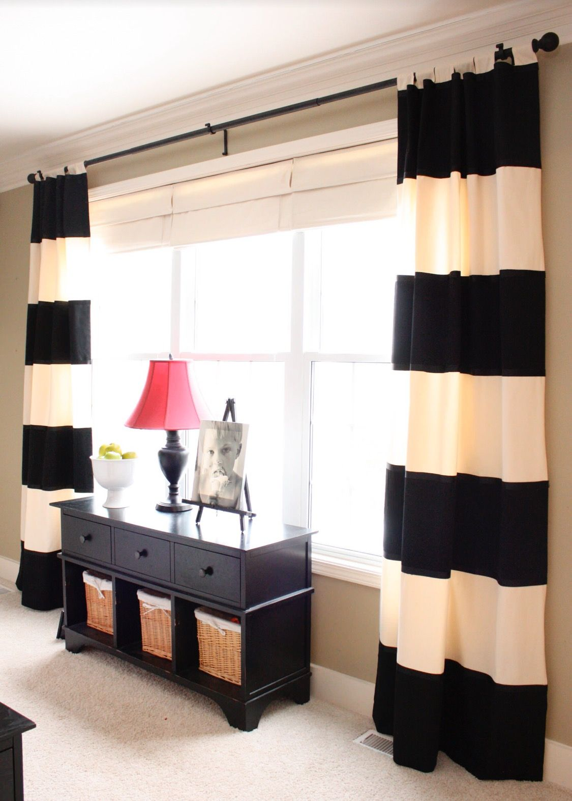 Tab-top and tie-top curtains | HOUZZ Interior Design | LOVE the ...