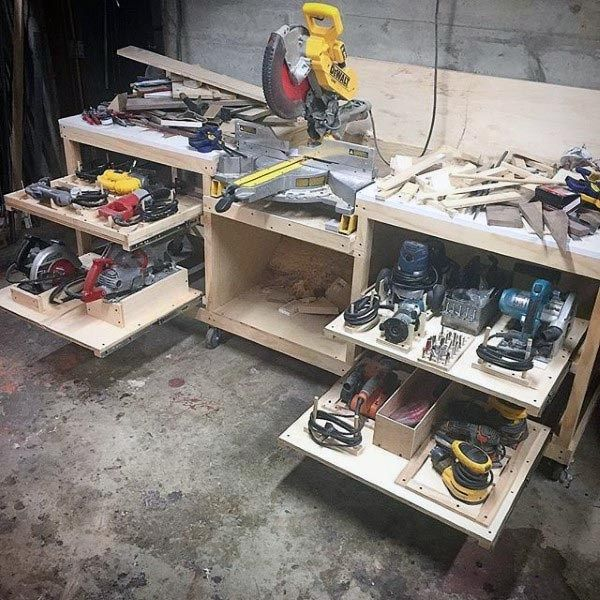 Photo of 99 Power Tool Storage Ideas