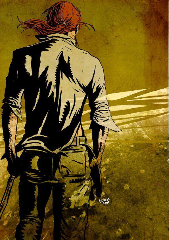 comic: the sadman autor: neil gaiman personaje: Destruction by Nicolas Brondo