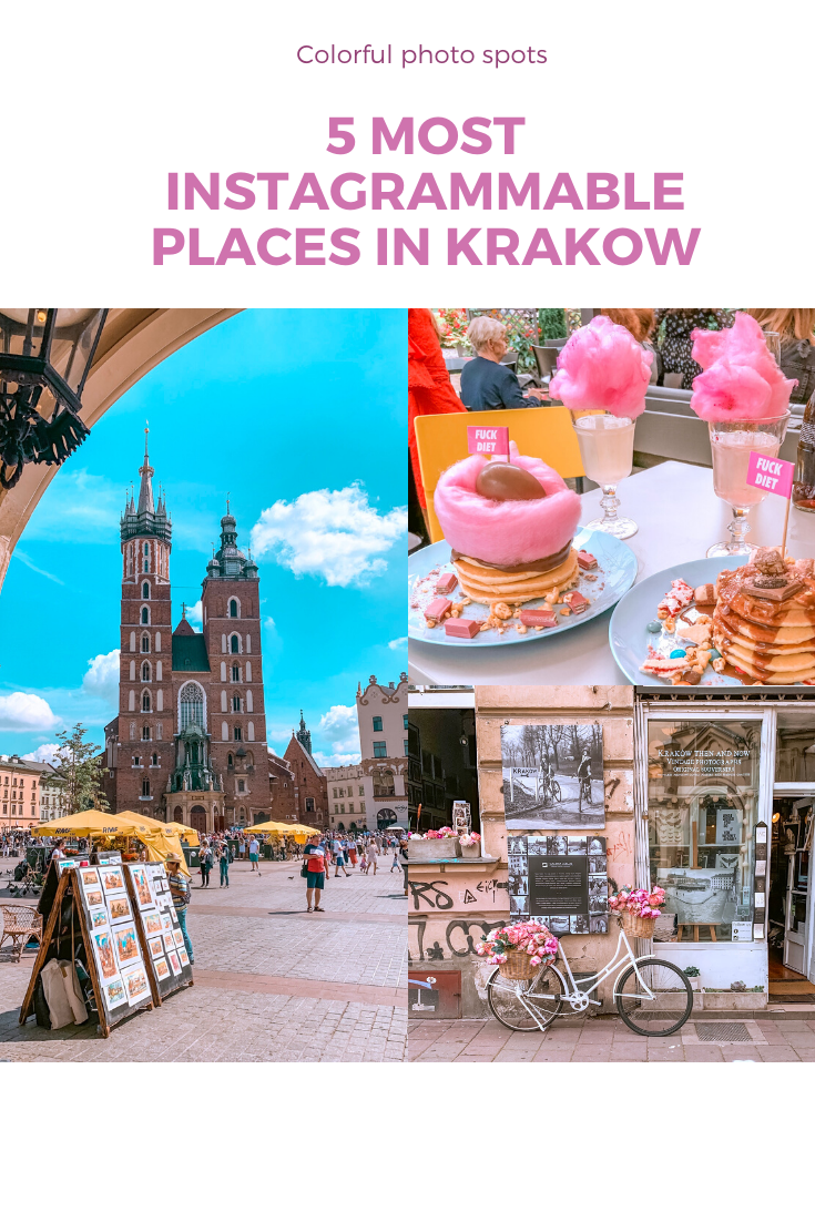 Find the best photo spots in Krakow, Poland.