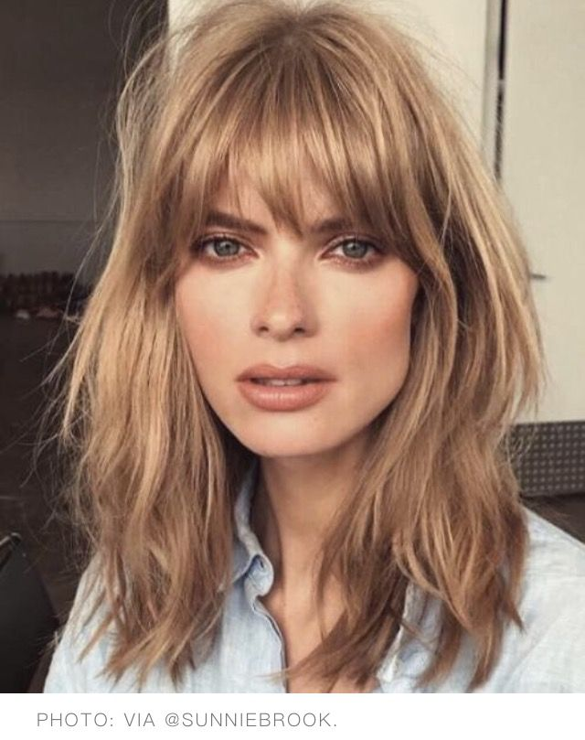 Love This Fringe Bangs To My American Friends Hair Color Cream Messy Hairstyles Hair Lengths