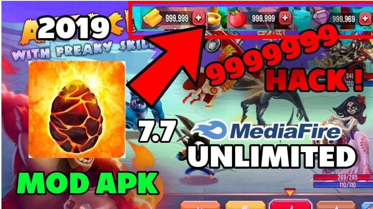 Monster Legends Unlimited Gems Mod Apk Download | Anita