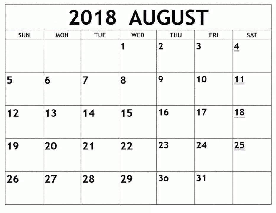 Pin by 4khd on August 2018 Calendar Printable Pinterest Calendar