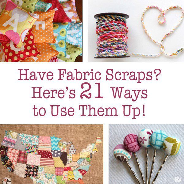 Fabric Scraps And Ways To Use Them Scrap Fabric Projects