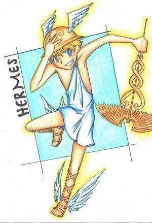 Hermes Greek Mythology Dieux Grecs Mythologie Antiquite