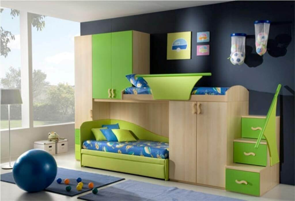 30 Latest Wardrobe Designs For Children's Room With Images ...