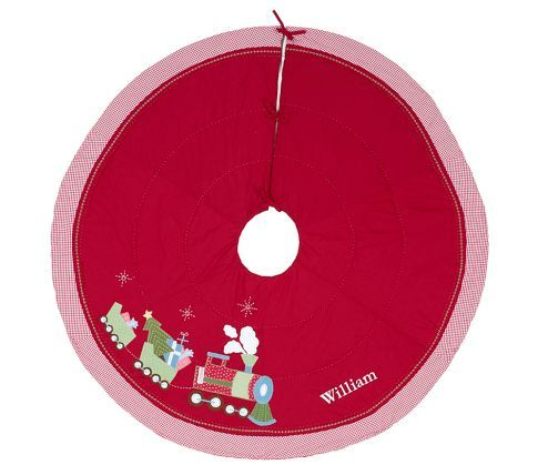 Quilted Tree Skirt Pottery Barn Kids Contemporary