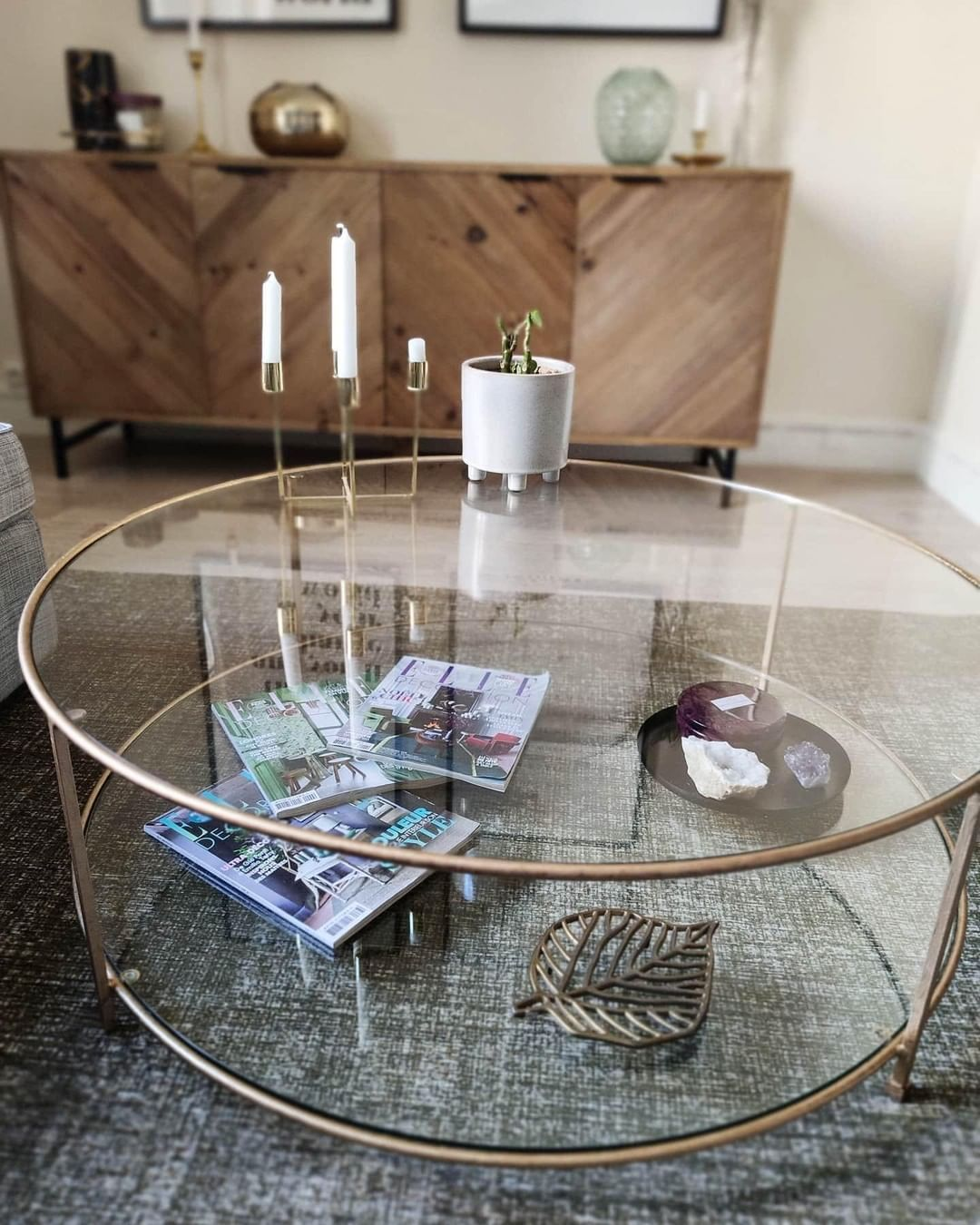 La Redoute Uk On Instagram House Of The Week Comes From Gallery Photo Emma Featuring Our Sybil Table Ta Inside Kitchen Cabinets Table Coffee Table [ 1350 x 1080 Pixel ]