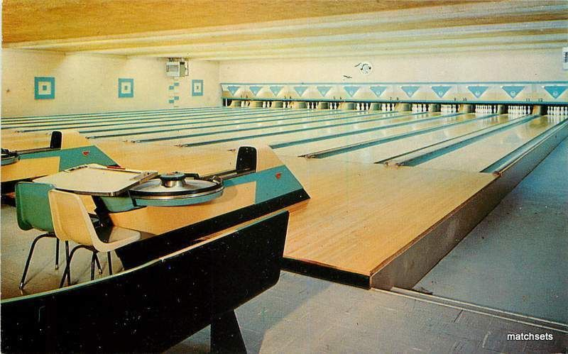 Edwardsburg Michigan Terrace Lanes Bowling Alleys Interior 3025 Michigan Terrace Bowling Alley