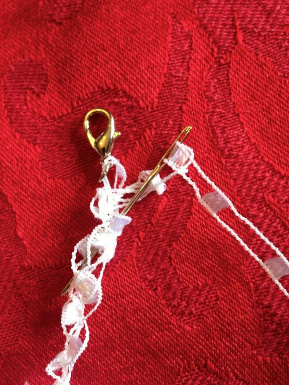 Simple Ladder Yarn Necklace How To Yarn Necklace