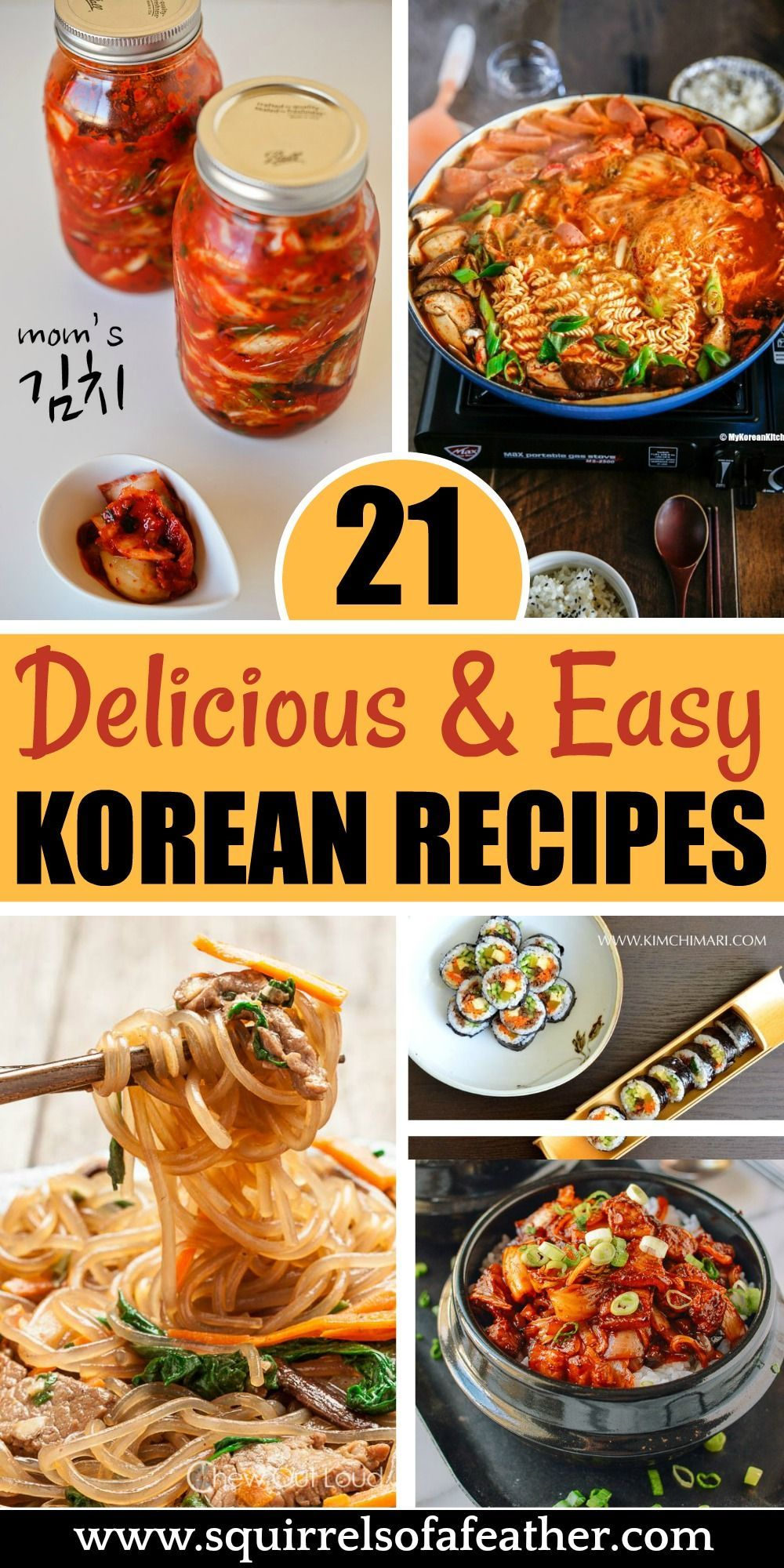 20 tasty korean recipes that anyone can make at home easy korean recipes korean side dishes asian recipes easy korean recipes korean side dishes
