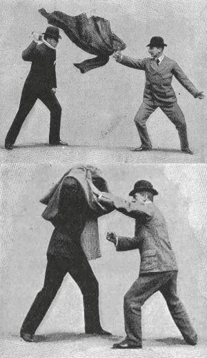 The Cape trick - self defense