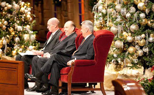 #ChristmasDevo Devocional de Navidad de la primera presidencia EN VIVO, ¡en una…
