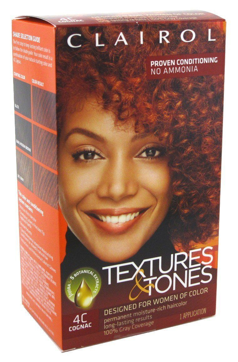 Clairol Textures And Tone Kit 4c Cognac 2 Pack Click On The