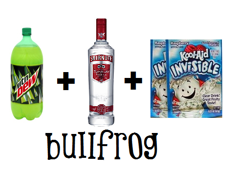 Bullfrog Drink Recipe Everclear