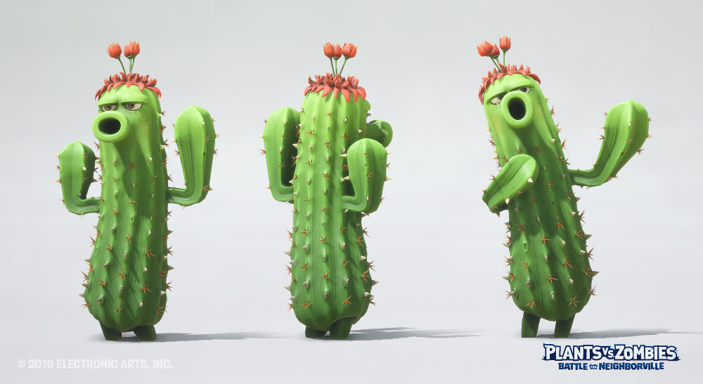 Artstation Plants Vs Zombies Battle For Neighborville Frederic Arsenault In 2021 Plants Vs Zombies Plant Zombie Plants