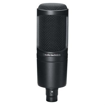 Audio-Technica AT2020 Cardioid Condenser Microphone - Detachable - 20Hz to 20kHz - Cable
