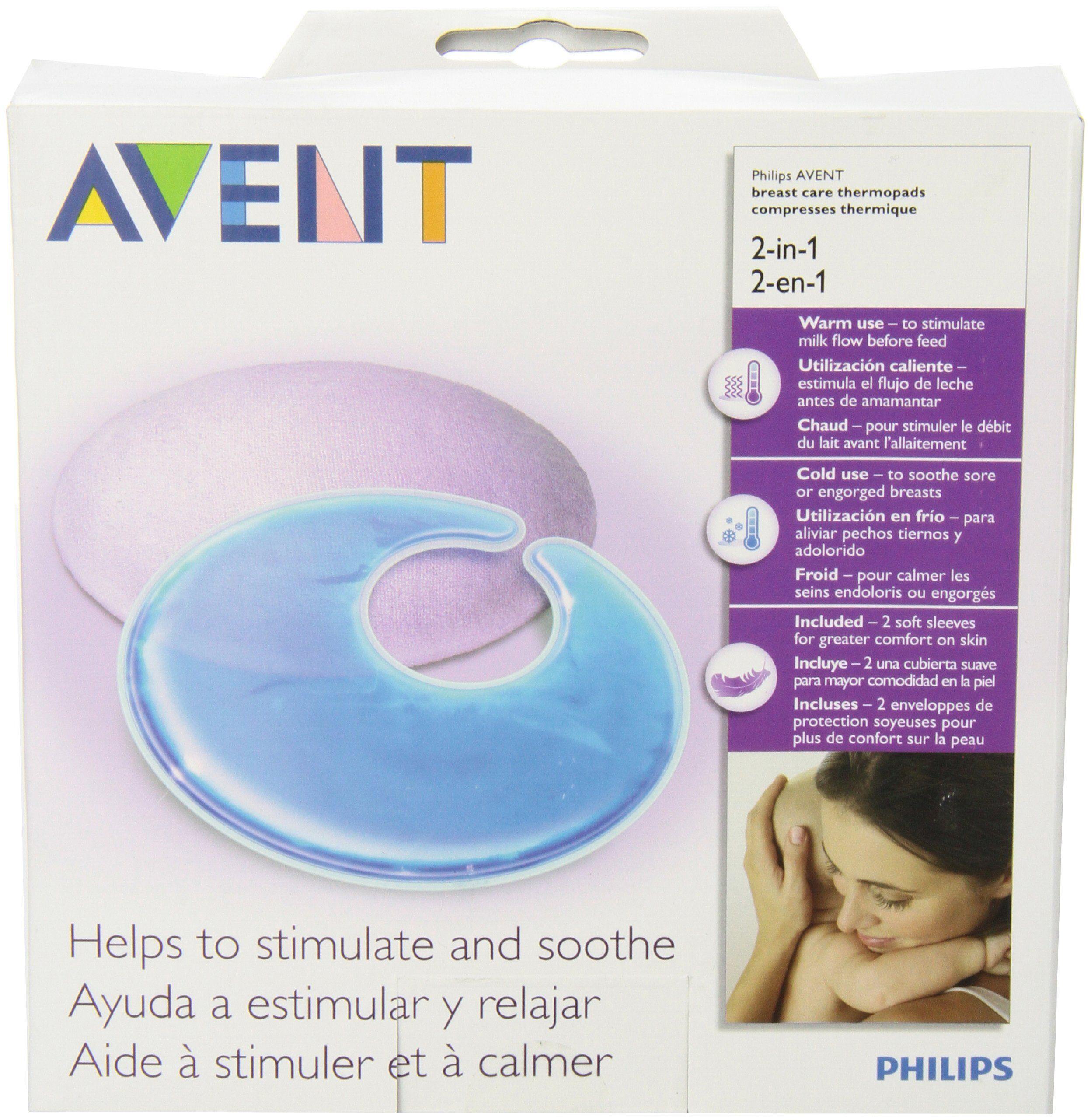 Amazon Com Philips Avent Thermal Gel Pads 2 Pack Nursing Bra Pads Baby Philips Avent Lansinoh Nursing Pads Avent