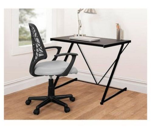 Black Student Desk Home Computer Small Laptop Table Furniture Dorm Workstation Blackstudentdeskhome Contemporary
