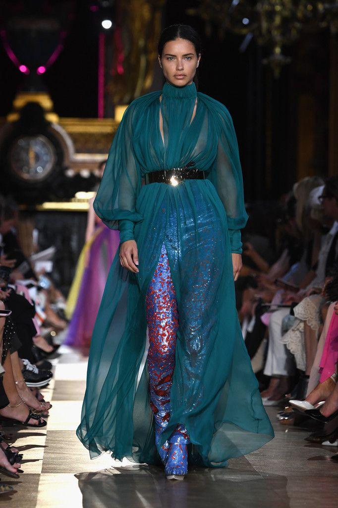 Adriana Lima at Schiaparelli Haute Couture FW 2018