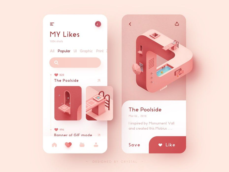 Les 9 Plus Grandes Tendances En Design D Application Mobile De 2021 99designs App Design Trends Mobile App Design App Design