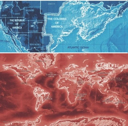 Republic World Maps ᒪegeᑎᗪ Tᖇiᒪogy Pinterest Legend