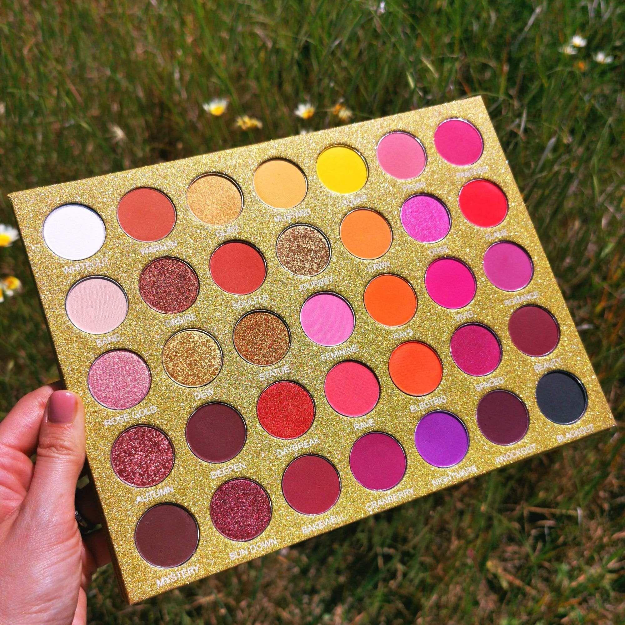 Golden Skies 35 Shade Sunset Eyeshadow Palette in 2020