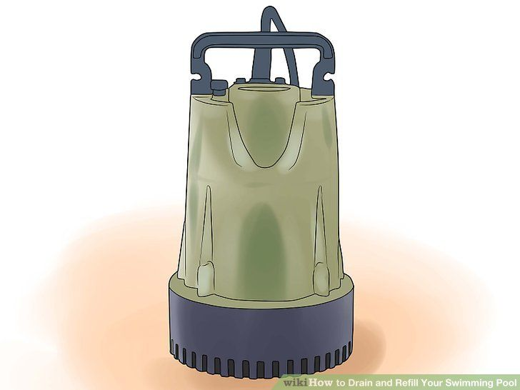 How to drain and refill your swimming pool diy plumbing