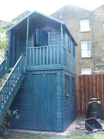 Children S Playhouse House With Storage Shed Or What