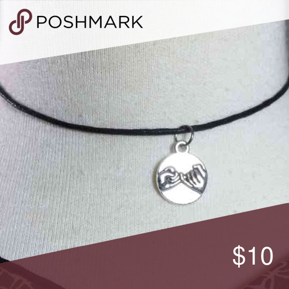 Sterling Pinky Promise Choker