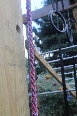 our ninja warrior course  speed rope braid  ninja