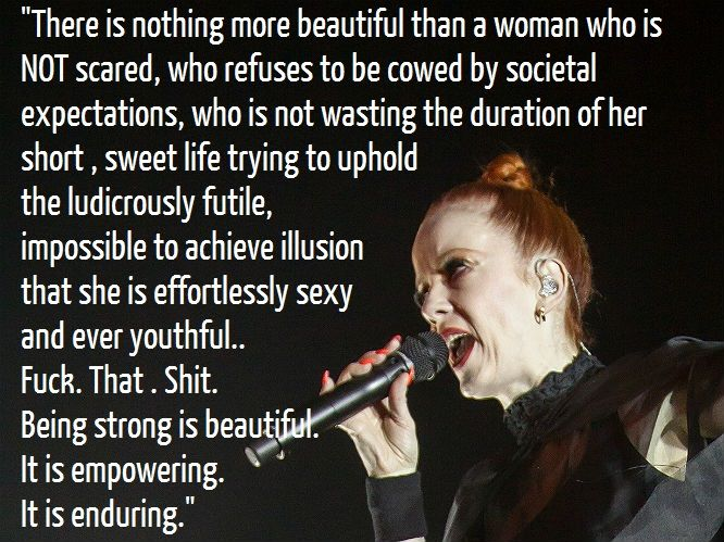 11 awesome quotes from Garbage's Shirley Manson