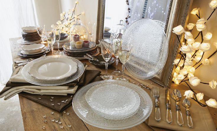 Yasmine table de noël décoration noël déco maison alinéa