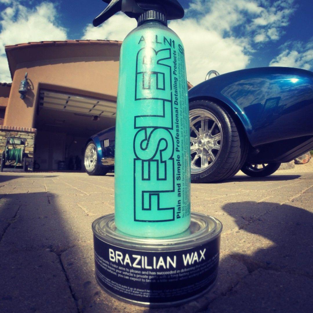 Fesler ALLN1 Detail Spray and Brazilian Wax gets the job