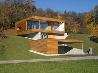 minihaus foto architekturbox zt gmbh bauhaus hanglage. Black Bedroom Furniture Sets. Home Design Ideas
